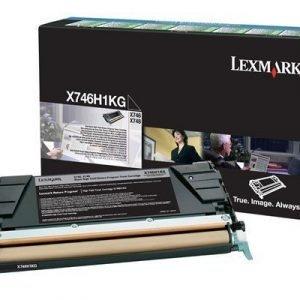 Lexmark Värikasetti Musta 12k X746/x748 Return