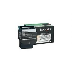 Lexmark Värikasetti Musta 1k C540/x543