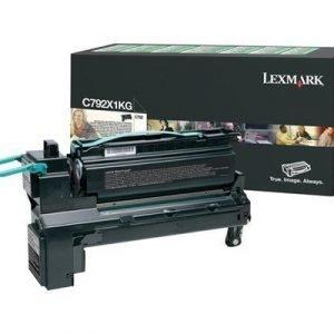 Lexmark Värikasetti Musta 20k C792