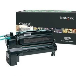 Lexmark Värikasetti Musta 20k X792de