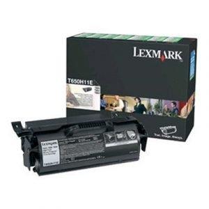 Lexmark Värikasetti Musta 25k T650 Return
