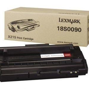 Lexmark Värikasetti Musta 3.2k X215