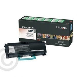 Lexmark Värikasetti Musta 3.5k E360/e460 Return