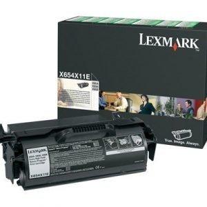 Lexmark Värikasetti Musta 36k X654/x656/x658