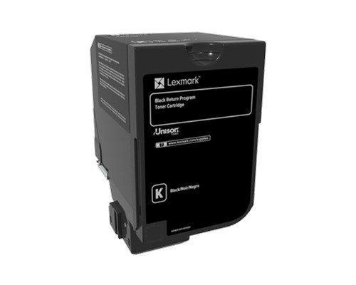 Lexmark Värikasetti Musta 3k Cs720/cs725 Return