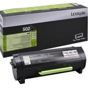 Lexmark Värikasetti Musta 502 1