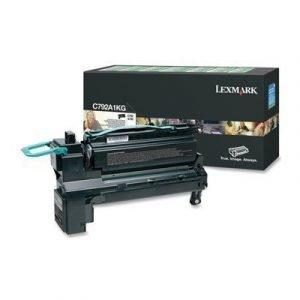 Lexmark Värikasetti Musta 6k C792