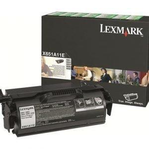 Lexmark Värikasetti Musta 7k Return X652