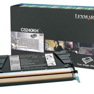 Lexmark Värikasetti Musta 8k C524 Return