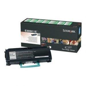 Lexmark Värikasetti Musta 9k E360/e460 Return