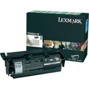Lexmark Värikasetti Musta T52x/650/652/654 Re T650a11e