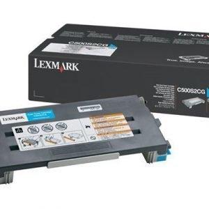 Lexmark Värikasetti Syaani 1.5k C500n