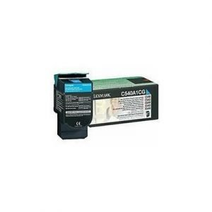 Lexmark Värikasetti Syaani 1k C540/x543