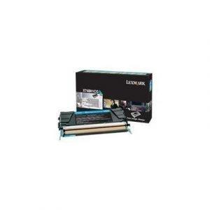 Lexmark Värikasetti Syaani Hc 10k - X748de/748dte
