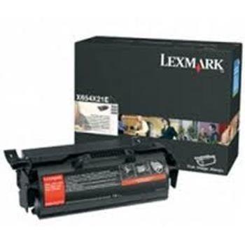 Lexmark X 654 DE MFP X 658 DTME MFP Toner X654X31E Black