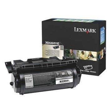 """Lexmark X644H11E Värikasetti X 642 E X 646 E â"""" Musta"""