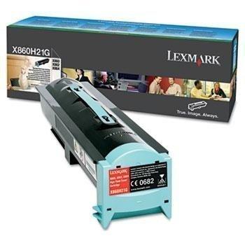 Lexmark X860H21G Toner X 860 DE 3 X 864 DE 4 Musta