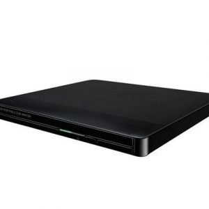 Lg Slim External Base Dvd-w 12.7mm Black Retail Dvd-asema