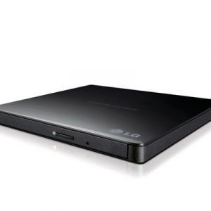 Lg Slim External Base Dvd-w 9.5mm Black Retail Dvd-asema