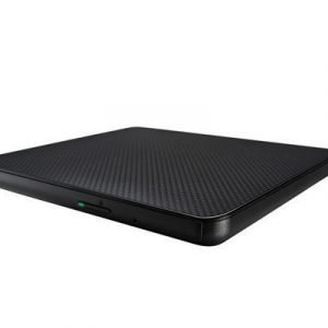Lg Slim External Base Dvd-w 9.5mm Gp80n Black Retail Dvd-asema