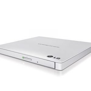 Lg Slim External Base Dvd-w 9.5mm White Retail Dvd-asema