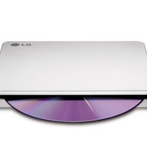 Lg Slim External Slot Base Dvd-w Silver Retail Dvd-asema