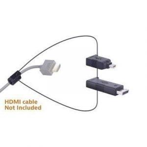 Liberty Av Solutions Digitalinx Hdmi Adapter Ring 19-nastainen Hdmi Tyyppi A Naaras 20-nastan Näyttöporttiliitin Mini Displayport Uros