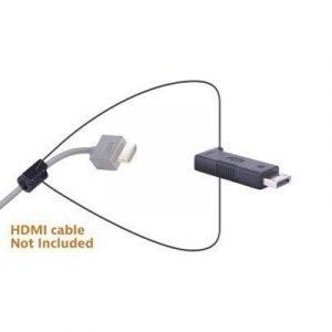 Liberty Av Solutions Digitalinx Hdmi Adapter Ring Dl-ar331 19-nastainen Hdmi Tyyppi A Naaras 20-nastan Näyttöporttiliitin Uros