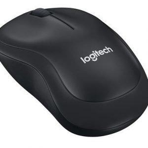 Logitech B220 Silent Wireless Mouse Black Optinen Hiiri Musta Harmaa