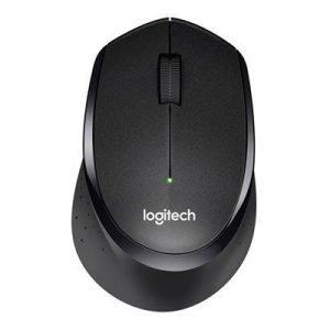 Logitech B330 Silent Plus Wireless Mouse Black Optinen Hiiri Musta