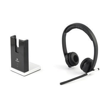 Logitech Dual H820 Wireless Headset Black