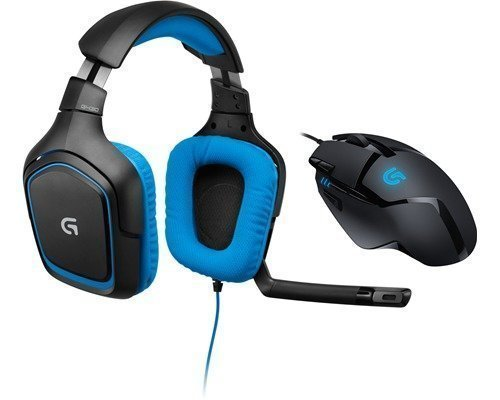 Logitech G430 Gaming Headset + G402 Hyperion Fury