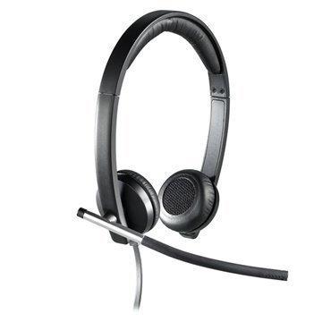 Logitech H650e USB Stereo Headset Black