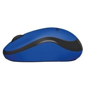 Logitech M220 Silent Wireless Mouse Blue Optinen Hiiri Sininen