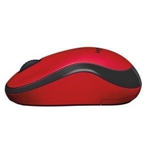 Logitech M220 Silent Wireless Mouse Red Optinen Hiiri Punainen