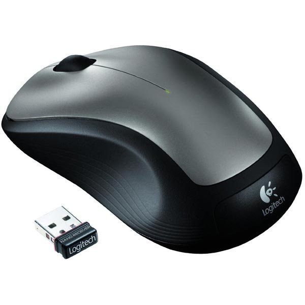 Logitech M235 Wireless mouse quicksilver