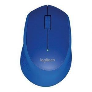 Logitech M330 Silent Plus Wireless Mouse Blue Optinen Hiiri Sininen