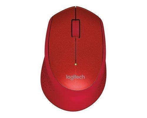 Logitech M330 Silent Plus Wireless Mouse Red Hiiri Punainen