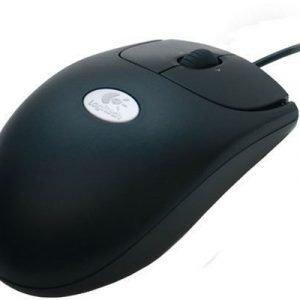 Logitech Optical Mouse Rx250 Optinen Hiiri Musta