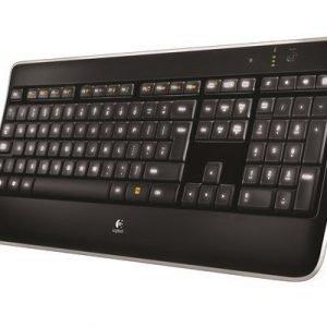 Logitech Wireless Illuminated Keyboard K800 Ruotsi