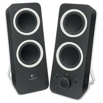 Logitech Z200 2.0 Stereo Kaiuttimet Musta
