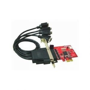 Lycom 4 Ports Rs232 5v Output Pci-express
