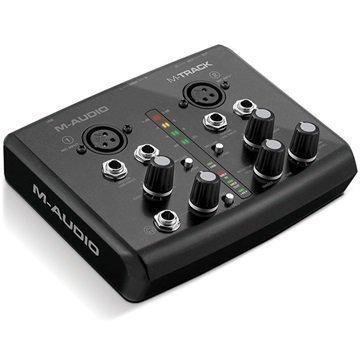 M-Audio M-Track USB Audio & MIDI Liitäntä