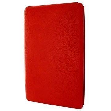MacBook 12 Piel Frama Unipur Nahkakotelo Punainen