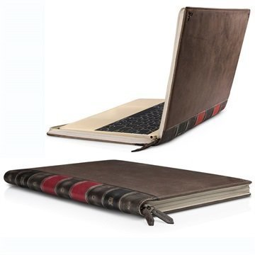 MacBook 12 Twelve South BookBook Leather Case Brown