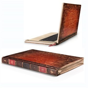 MacBook 12 Twelve South BookBook Rutledge Leather Case Brown