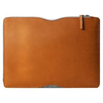 MacBook Air 13 MacBook Pro 13 Mujjo Folio Sleeve Kotelo Keltaisenruskea