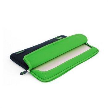 MacBook Pro 15 Cool Bananas RainSuit Stripes Retina Neopreeni Suojakotelo Vihreä