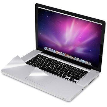 MacBook Pro 15 Moshi PalmGuard Rannetukisuojus Hopea