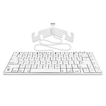 Macally iKey30 Näppäimistö iPhone 4S Valkoinen